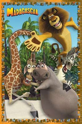 Anonymous - Madagascar - Dance NO LONGER IN PRINT - LAST ONES!! (Madagascar Movie Poster)