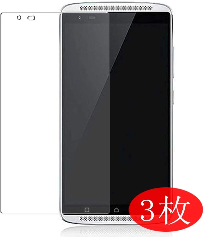 【3 Pack】 Synvy Screen Protector for Lenovo Vibe X3 c78 TPU Flexible HD Film Protective Protectors [Not Tempered Glass]