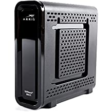 ARRIS SURFboard SB6121 4x4 DOCSIS 3.0 Cable Modem (Certified Refurbished)-Black