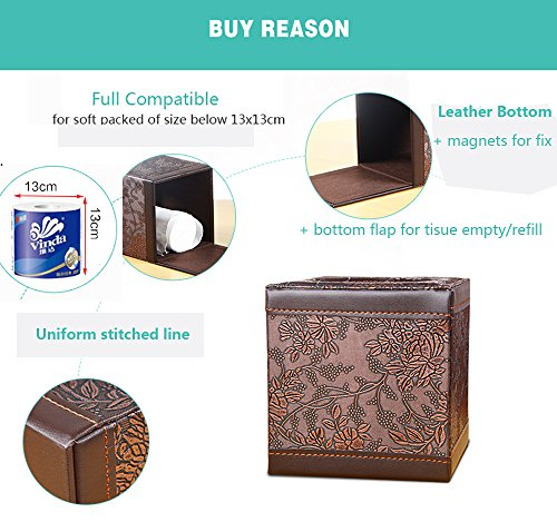 Review PU Leather Square Cube