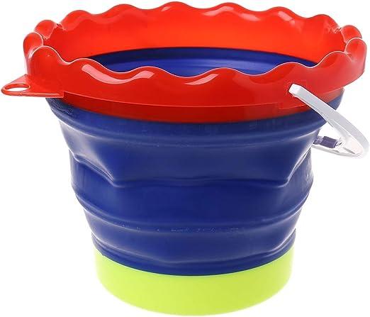 Cubo de silicona plegable para lavar pinceles de pintura, soporte ...