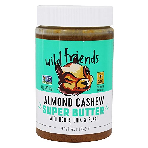 WILD FRIENDS ALL-NATURAL ALMOND CASHEW SUPER BUTTER -