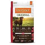 Instinct Grain Free Dry Dog Food, Original Raw