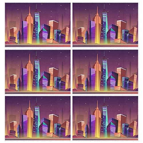 ANINILY New York Cityscape 12