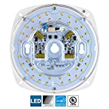 Sunlite LED Retrofit Light Engine, 6-inch, 3000K Warm White, 23 Watt, Dimmable, Flush Ceiling Fixture LED Upgrade Panel, Energy Star Compliant, Commercial Grade, 90 CRI