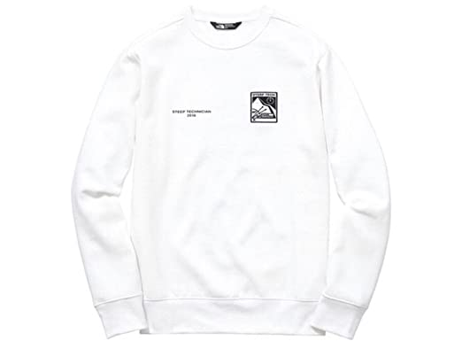 b643235fc Supreme X The North Face Steep Tech Col Rond - Blanc - Blanc - Large ...