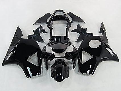 Amazon Moto Onfire Black Motorcycle Fairings Kit Fit 02 03