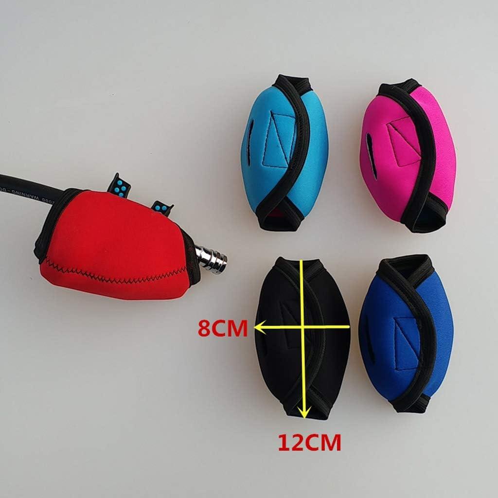 2 Colores para Seleccionar Seafard Estuche De Neopreno para La Cubierta del Regulador De Buceo para Buceo De Segunda Etapa