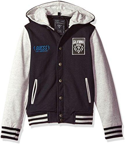 GUESS Boys Hooded Varsity Jacket