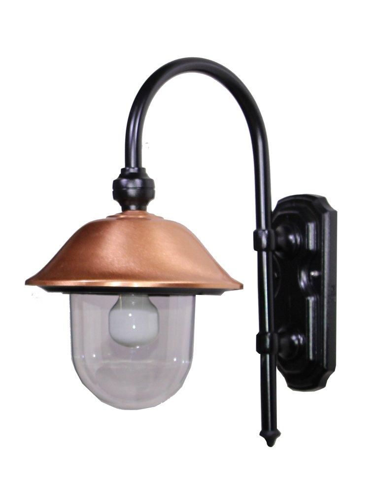 MALTA R101RA - Affascinante Lampada in alluminio a Parete Nera (N) - Disponibile in altri colorei – Prodotta in Italia da Valastrolighting - Consigliata