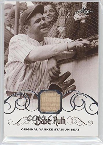 Yankee Stadium Seats - Babe Ruth (Baseball Card) 2016 Leaf Babe Ruth Collection - [Base] - Original Yankee Stadium Seat [Memorabilia] #YS-40