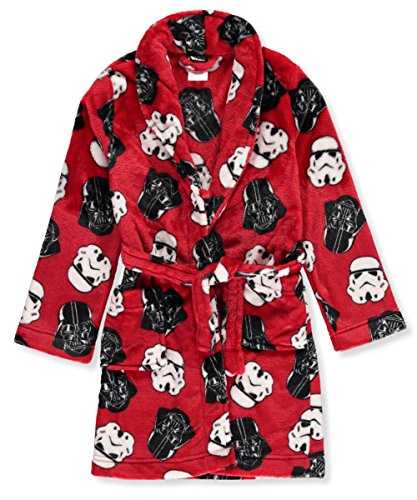 Star Wars Bathrobe (Star Wars Boys Darth Stormtropper Plush Robe)