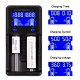 Universal Battery Charger EASTSHINE S2 LCD Display