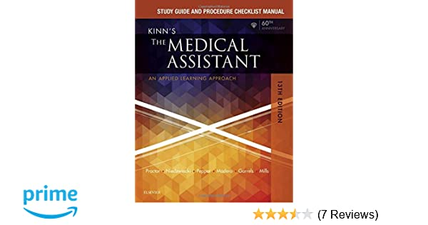 Study guide and procedure checklist manual for kinns the medical study guide and procedure checklist manual for kinns the medical assistant an applied learning approach 13e 9780323429474 medicine health science fandeluxe Gallery