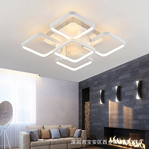 Stylish minimalist LED Ceiling lamp Bedroom Living room Study Children Ceiling Lamp,16 Head - Pendant Bound Glass Lantern Light