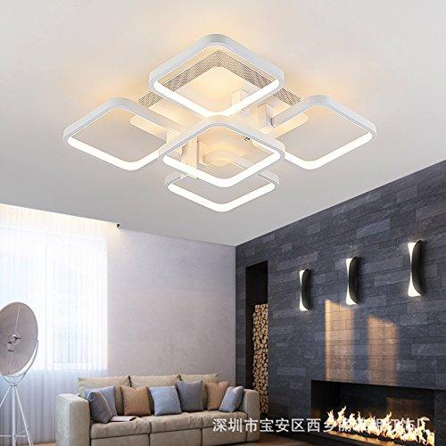 Stylish minimalist LED Ceiling lamp Bedroom Living room Study Children Ceiling Lamp,16 Head - Pendant Bound Glass Lantern Light