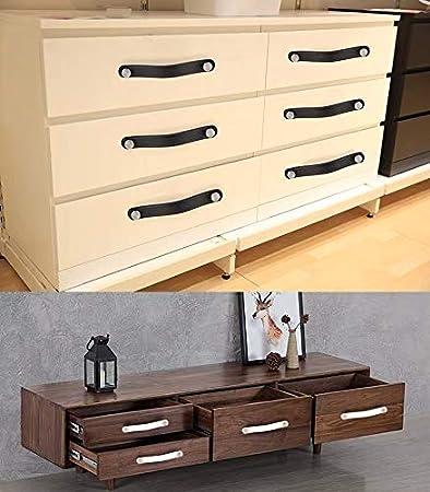 estilo europeo moderno maletas multicolor tirador para puertas Tirador de puerta de piel para muebles armarios armarios