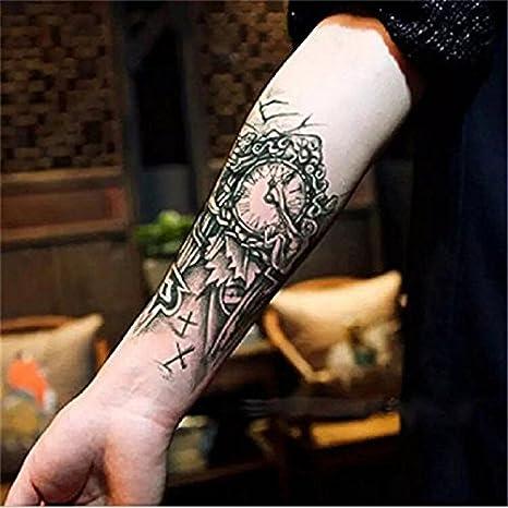 LZC Nuevo 10.5x21cm Tatuaje Temporal Adulto para Hombro Brazo ...