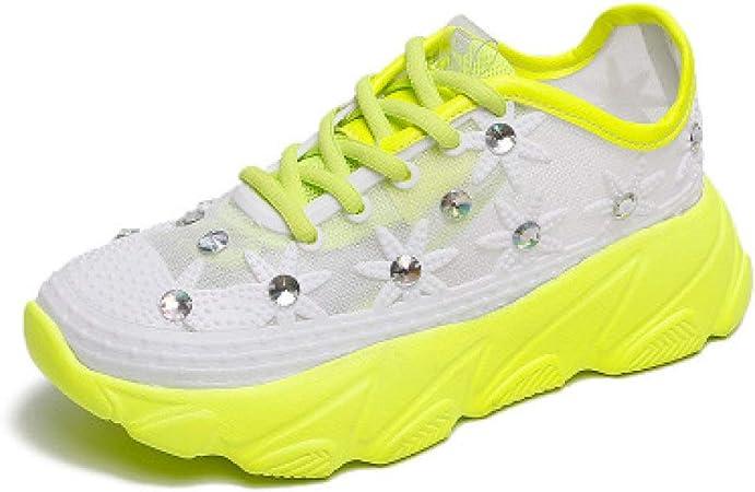 Sandalias De Mujer,Zapatos De Muffin De Fondo Grueso De Diamantes ...