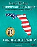 FLORIDA TEST PREP Common Core Quiz Book Language Grade 2, Test Master Press Florida Staff, 148263144X
