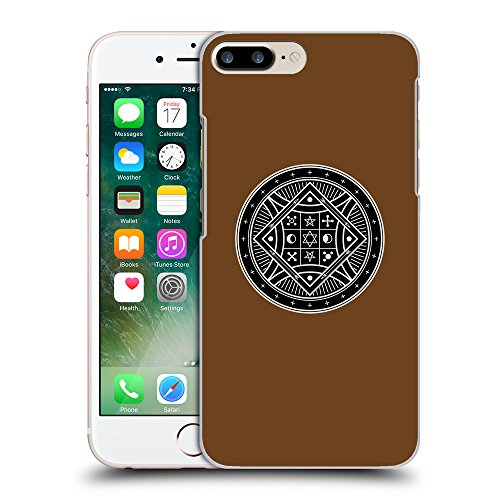 GoGoMobile Coque de Protection TPU Silicone Case pour // Q08290633 Mystique occulte 8 Sépia // Apple iPhone 7 PLUS