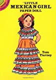 Little Mexican Girl Paper Doll