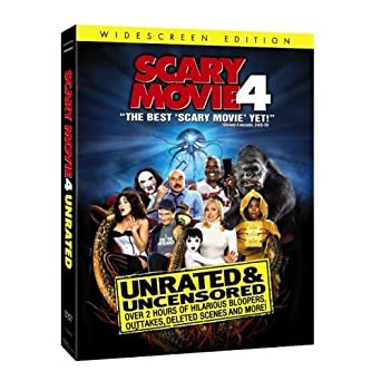 Amazon Com Scary Movie 4 Unrated Widescreen Edition Anna Faris Regina Hall Andre Benjamin Craig Bierko Bill Pullman Anthony Anderson Leslie Nielsen Molly Shannon Michael Madsen Chris Elliott Carmen Electra Shaquille O Neal David