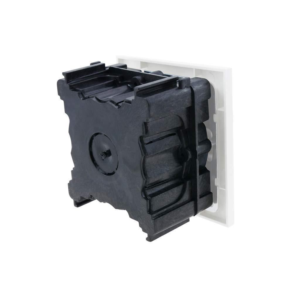 BeMatik Caja de empotrar 66x66mm cajet/ín de Conexiones el/éctricas