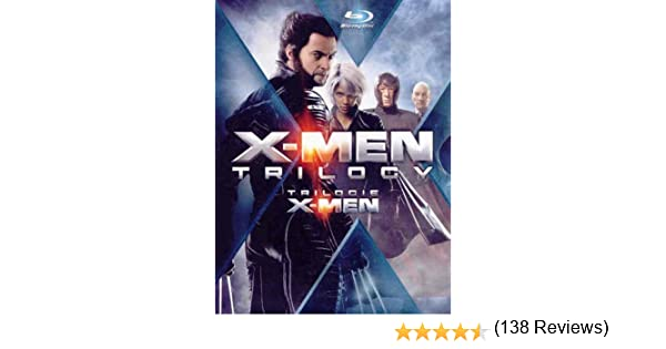 X Men Trilogy Blu Ray Bilingual Amazonca Patrick Stewart Hugh Jackman Ian McKellen Halle Berry Famke Janssen Anna Paquin Brian Cox James