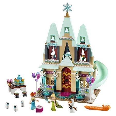 477-piece Set Disney Princess Arendelle Castle Celebration, Multicolor