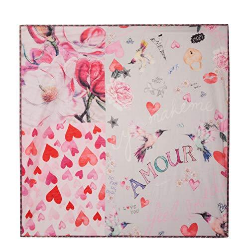 Pink Donna Fazzoletto Codello Collo Da ICqSCxwX