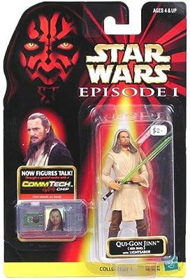 Star Wars Episode I: The Phantom Menace, Qui-Gon Jinn (Jedi Duel) Action Figure, 3.75 Inches