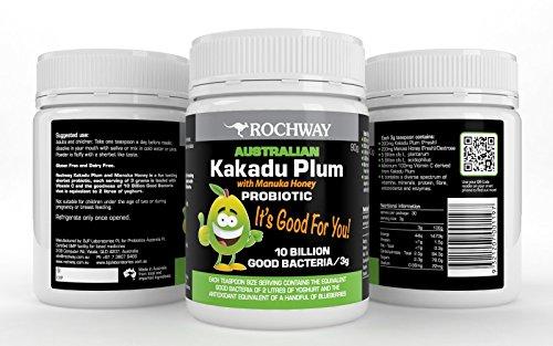 Rochway Australian Kakadu Plum With Manuka Honey Probiotic