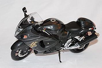 Suzuki GSX1300R Hayabusa Schwarz 1 12 Wits Modell Motorrad Auto