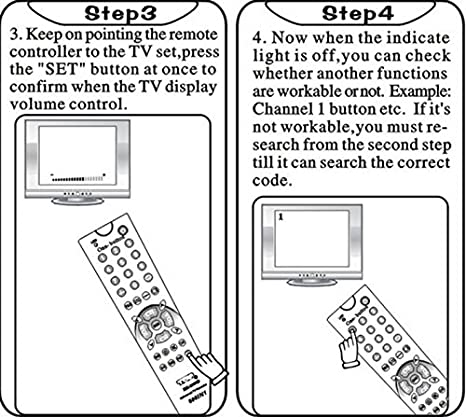 Nuevo Universal bajo consumo de energía portátil mando a distancia apropiado para muchos Sony Samsung LG Panasonic Toshiba Hitachi Philips Sharp NEC TV televisión modelos: Amazon.es: Electrónica