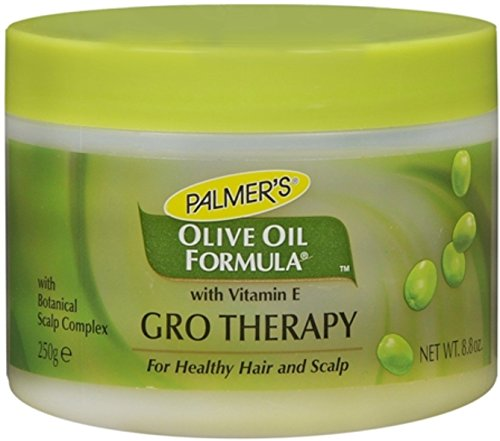 Palmers Olive Oil Formula Gro Therapy Balm With Extra Virgin – 8.8 Oz Jar Pack of 3