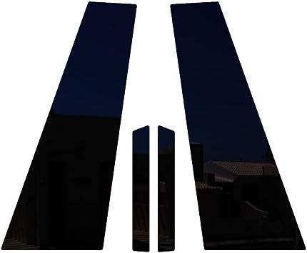 Ferreus Industries Piano Black Glossy Pillar Post Trim Cover fits 2005-2015 Mercedes CLS550 All Models PIL-032-GB-FER2017