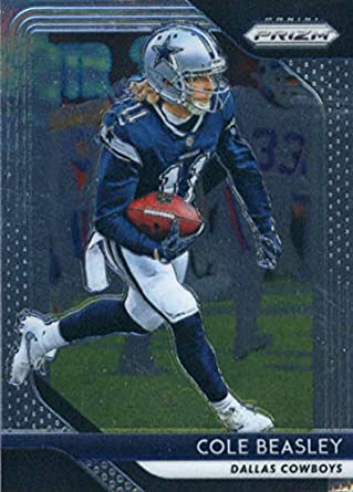 ad27d84d7 2018 Panini Prizm Football  200 Cole Beasley Dallas Cowboys Official NFL  Trading Card