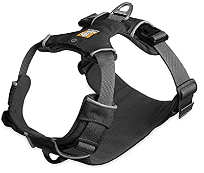 Ruffwear Gray Front Range Dog Harness ? All Day Training Adjustable Adventure Harness ? All Sizes