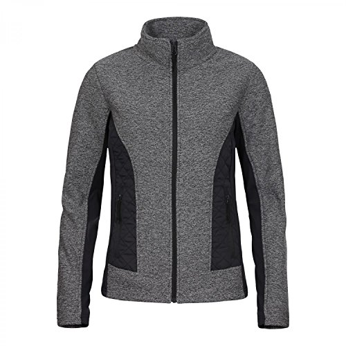 ICEPEAK - LIS, Thermal-Jacke aus Materialmix LEAD-GREY