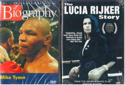 - Biography Mike Tyson , the Lucia Rijker Story : A Behind the Scene's Look At Women's Boxing - 2 Pack Gift Set