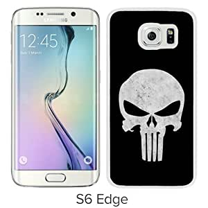 punisher skull White Popular Sell Customized Design Samsung Galaxy S6 Edge G9250 Case