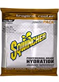 Sqwincher Powder Concentrate Electrolyte Replacement Beverage Mix, 5 gal, Tropical Cooler 016409-TC (Pack of 16)