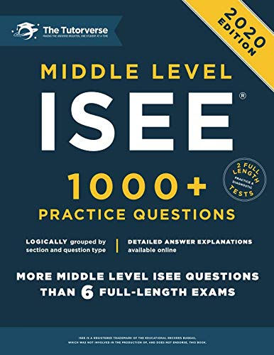 Middle Level ISEE: 1000+ Practice Questions by CreateSpace Independent Publishing Platform
