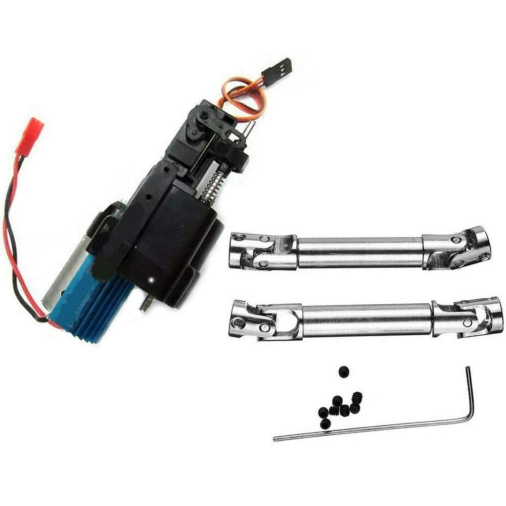 eginvic Speed Gear Box Motor Drive Shaft F/ür WPL Gearbox /& 2 Transmission Shaft Spielzeugauto Zubeh/ör