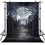 Ouyida 5x7ft Halloween Cloth Backdrop Background Halloween Decoration (Small Image)