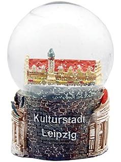 topspirit Schneekugel Steinbock mit weissem Schnee 7.5 cm