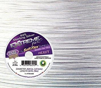 Soft Flex Extreme -- Sterling Silver .024