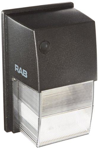RAB Lighting WPTF42 Tallpack CFL Lamp with Polycarbonate Molded Refractor, Triple Type, Aluminum, 42W Power, 3000 Lumens, 120/208/240/277V, Bronze Color