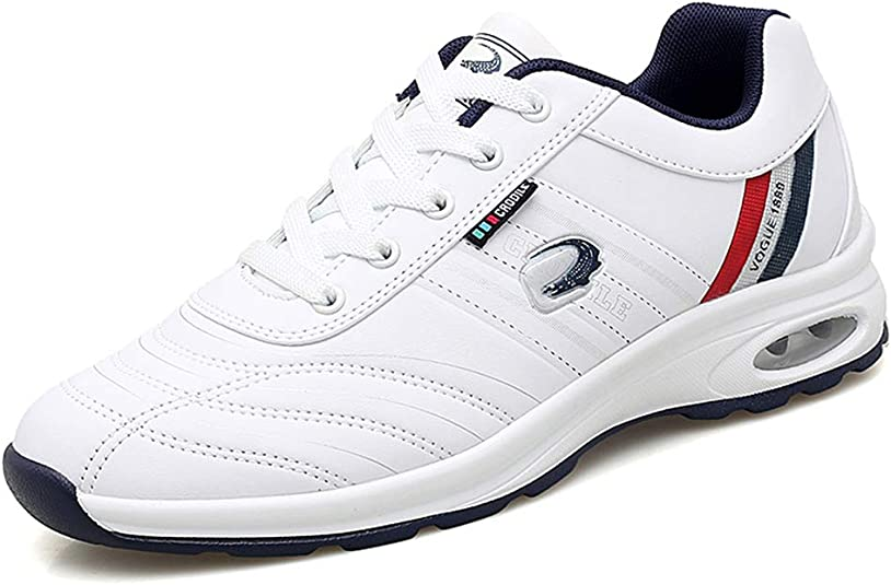 ZAKEY Mens Waterproof Golf Shoes Spikeless Casual Golf Trainers Youth Sport Walking Fashion Sneakers